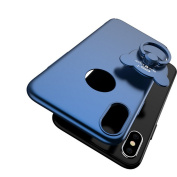 iPhone 8 Slim Hard PC Ring Stand Case,Superstart 360 Degree Cute Bear Ring Stand Luxury Ultra Thin Shockproof Full Body Case for iPhone 8