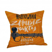 Usstore Pillow Case Halloween Cushion Cover Home Decor Pillow Core