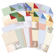 Hunkydory Crafts A Very Merry Christmas Inserts & Background Papers for Cards
