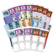 Hunkydory Festive Filigree Frames Luxury Card Collection FESTFRAME101