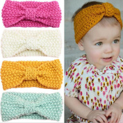 Missgrace Knit Baby Headband Baby Girl Hair Accessories Baby Hair Jewellery