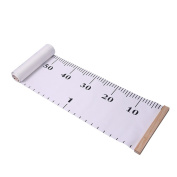 Kids Growth Chart Wooden Height Ruler Removable Height Chart Room Decoration