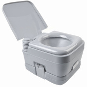 10.6l 10L Portable Toilet Travel Camping Outdoor/Indoor Toilet Potty Flush