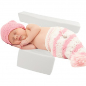 Newborns Infant Sleep Pillow Wedge,Adjustable Width 10-22cm