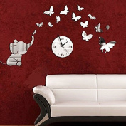 Naladoo Petals Pattern Sticker DIY Mirror Wall Clock Wall Sticker Home Decoration