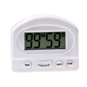 BESTOMZ Digital Kitchen Timer with Magnetic Backing Stand for Cooking Sports Games Office Meeting