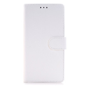 Galaxy Note 5 Case,TONERONE Genuine Leather Ultra Thin Slim Litchi Pattern Card Slot Business Back Cover for Samsung Galaxy Note 5 Pro,White