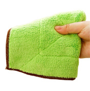 6PCS Microfiber Kitchen Cleaning Clothes- Quickly Dry Thicken Kitchen Hand Cleaning Tools Wiping Dust Rags