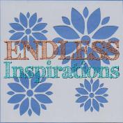 Endless Inspirations Original Stencil, 15cm x 15cm , Poinsettia 2