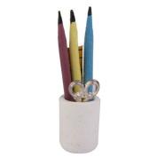 TOOGOO(R) 1:12 Dollhouse Miniature Pen Cup Holder with Pencil Ruler Scissor