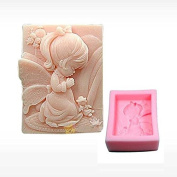 3D Little Angel Craft Art Silicone Soap mould Craft Moulds DIY Handmade Candle mould Chocolate Mould moulds