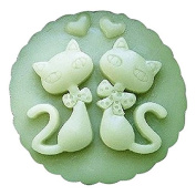 3D Cat Lovers Craft Art Silicone Soap mould Craft Moulds DIY Handmade Candle mould Chocolate Mould moulds
