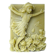 3D Running Fairy Craft Art Silicone Soap mould Craft Moulds DIY Handmade Candle mould Chocolate Mould moulds
