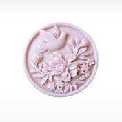 3D Peace dove Craft Art Silicone Soap mould Craft Moulds DIY Handmade Candle mould Chocolate Mould moulds