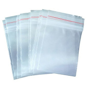 7cm X 10cm , ISusser Zipper Poly Bags Clear Resealable Transparent Sealing Bags, 500 Pack