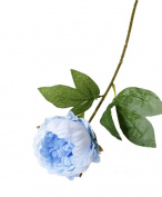 AliceHouse 10 Heads Silk Peony Artificial Flower Bouquet Home Hotel Office Decor Weding Party decorations AF009 Blue