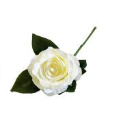 CMrtew 1PC Artificial Silk Fake Roses Flowers Wedding Bouquet Bridal Decor