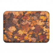 Maple Leaf Outdoor/Indoor Entrance Doormat Printed Doormat Non-slip Doormats For Kitchen/Bathroom/Bedroom