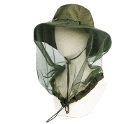 5 colours Quick dry bug away bucket hat w/ 360° netting UPF 40+ sun hat fishing hats booney hat outdoor hats Anti-mosquito Mask Hat