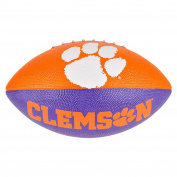 Clemson University Orange White and Purple Regulation Size Tiger Print Football