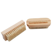 Iumer Non-Slip Wooden Two-sided Hand and Nail Brush