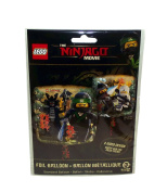 HeXL Lego Ninjago Double-Sided Foil Party Balloon, 43cm