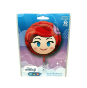 HeXL Disney The Little Mermaid Ariel Emoji Style Foil Party Balloon, 43cm