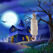 Spooktacular Creations 90cm Light Animated Hanging Corpse Halloween Indoor and Outdoor Decoration Prop