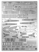 Love the Super dimension Macross Hasegawa Macross SDF-1 Macross fortress ship detail up etching parts for 1 / 4000scale plastic model parts QG61
