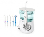 Lucktao Dental Water Flosser Oral Irrigator Waterpick Dental Floss Water Irrigation Jet Dental Tooth Floss V600g