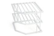 PRO-MART DAZZ Heavy Duty 3 Tier Corner Shelf - White