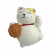 Cute Lucky Cat Soft Slow Rising Squishy Stress Relief Squeeze Toy Charm