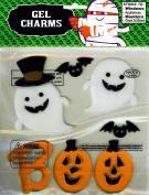 Nantucket Home BOO Jack-o-Lanterns Ghosts Bats Halloween Gel Window Clings