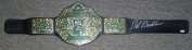 Bob Backlund Signed WWE World Heavyweight Championship Belt Auto'd WWWF - PSA/DNA Certified - Autographed Wrestling Robes, Trunks and Belts