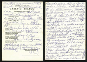 Rocky Marciano 4.5x6.5 Handwritten Letter w/ Great Fight & Personal Content - PSA/DNA Certified - Autographed Boxing Miscellaneous Items