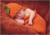 Cute Cartoon Infant Newborn Baby Girl Boy Crochet Hat Clothes Baby Photograph Props