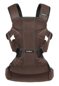 Baby Carrier One Air - Brown/Black, Mesh