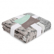 aden + anais silky soft dream blanket, sahara motif - sahara motif