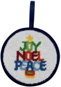 Christmas Word Tree Christmas Ornament - Needlepoint Kit