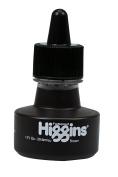 Higgins Pigmented Drawing Ink, Brown, 30ml Bottle