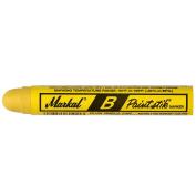 Markal 80221 B Paintstik Solid Paint Ambient Surface Marker, Yellow