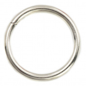 "20 Pcs 25mm 1"" Metal O-rings Rings Non Welded"