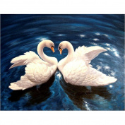 Allywit 5D Animal Diamond Rhinestone Pasted Embroidery Painting Cross Stitch Home Decor