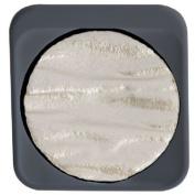 Finetec F1212 Artist Mica Watercolour Pan Refill - Pearl Silver
