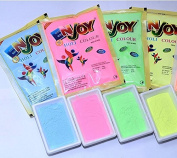 NeON UV Glow Holi Rangoli Colour Powder Gulal Gulaal - Certified Skin-safe & Non-Toxic (Pack of 4 Assorted Colours) 100g each