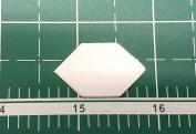 1.3cm Elongated Hexagon English Paper Piecing EPP Set of 100