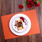 Liflicon Premium Silicone Kitchen Dining PlaceMat/Hot Pads Pot Holders Spoon Rest Baking Mat Pet Food Mat Non-slip Trivet Mats-Orange