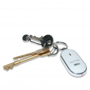 HUAJI Whistle Key Finder Locator Find Locater Keychain