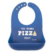 Bella Tunno Pizza This Silicone Wonder Bib