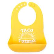 Bella Tunno Taco Tuesday Silicone Wonder Bib